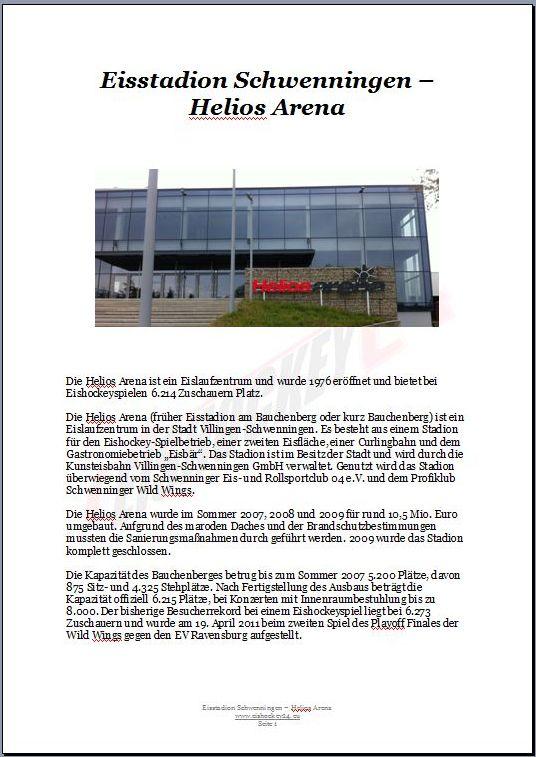 Eisstadion Schwenningen – Helios Arena